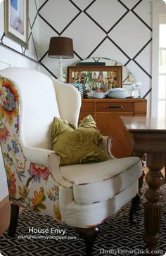 Wonderful Tips: Upholstery Studio Ux Ui Designer upholstery table diy.Upholstery Fabric Family Rooms upholstery webbing miss mustard seeds. Upholstered Furniture, Rustic Furniture, Poltrona Bergere, Furniture Projects, Furniture Design, Wood Projects, Thrifty Decor Chick, Wingback Chair, Interior Design