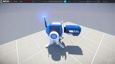 Blue turret