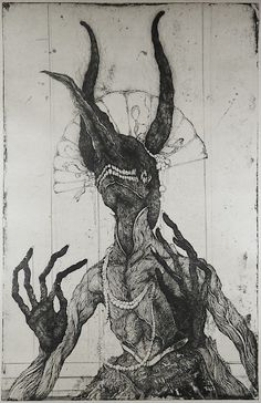 Toshihiko Ikeda : The Smiling Old Queen - Sprouting Horns from Chaos-  at…