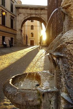 #Rome, #Italy - glowing int he morning sun! #Travel #Adventure #Explore #Beauty #World #Wanderlust