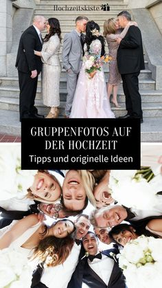 Tips and original ideas for the group photos at the wedding - Group photos that your guests will love and real highlights for the wedding album photos # - Wedding Beauty, Wedding Bride, Wedding Events, Wedding Ceremony, Dream Wedding, Wedding Dresses, Wedding Album, Wedding Photos, Long Sleeve Wedding