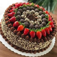 Hey I hope you need healthy desserts? For detailed info read the whole post! Cake Decorating Techniques, Cake Decorating Tips, Sweet Desserts, Healthy Desserts, Chocolate Desserts, Chocolate Cake, Brigadeiro Chocolate, Cake Recipes, Dessert Recipes