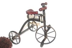 Vintage English Steel Miniature Tricycle by AntiqueAlchemyShop, $120.00