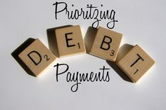 Get out of debt for good! Make a plan with these prioritizing tips.