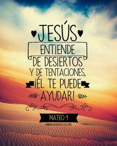 JESUS SOLO EL TE ENTIENDE
