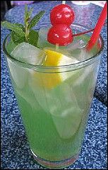 Mint Julep   Mint Julep Bar   Yield: Approximately 2/3 gallon.   Ingredients   1 c. Sugar  3 t. Lime Juice Concentrate  3 c. Soda Water  6 ...