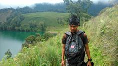 Going home from Ranu Kumbolo, Indonesia