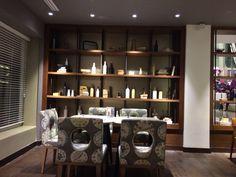 Staal en hout kast Jakarta mercure hotel