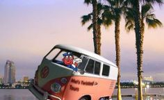Mel's case partner Mr. Zip is feeling the pinch because the CCAs are taking away all of his overtime, so he hired on as a driver for Mel's Twisted Tours.  Hop on board!