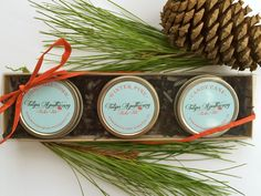 Holiday Gift Pack, Lip Balm Gift Box, Stocking Stuffer, Three Pack of Natural Lip Balm, Lip Balm Gift for Her, Lip Balm Favors, Wholesale by TulipsApothecary on Etsy https://www.etsy.com/listing/253311043/holiday-gift-pack-lip-balm-gift-box
