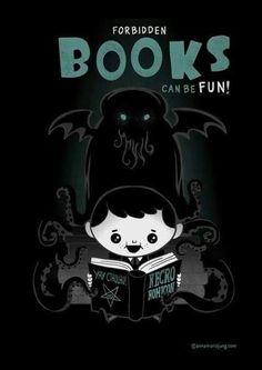 Humor Forbidden books can be fun!