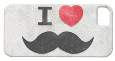 #Zazzle                   #love                     #love #heart #Mustaches #vintage #damask #Iphone #Cases #from #Zazzle.com     I love / heart Mustaches vintage damask Iphone 5 Cases from Zazzle.com                                  http://www.seapai.com/product.aspx?PID=1495416