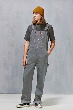 Dickies Hickory Stripe Bib Overall - Urban Outfitters