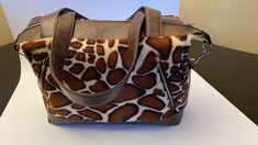 Sac Java tissu motif girafe cousu par Yannic - Patron sac Sacôtin