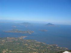Impressive view of the Golfo de Fonseca / Fonseca Gulf, Honduras