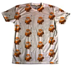 Cute Star Wars Ewok 1080p Tshirts All Over Printed Sublimation OMWEEKEND