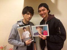 """Kento yamazaki went to see Ryo Yoshizawa's stage play """"TOKYO HEAD"""", 03/21/2015"""