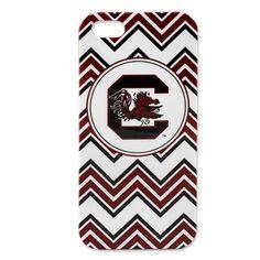 South Carolina Gamecocks Chevron iPhone5 Case #gamecocks