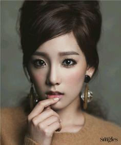 women music Girls Generation SNSD Asians Korean Kim Taeyeon K-Pop band faces South Korea - Wallpaper ( / Wallbase. Beauty Makeup, Eye Makeup, Hair Makeup, Hair Beauty, Makeup Style, Gyaru Makeup, Monolid Makeup, Prom Makeup, Girls' Generation Taeyeon
