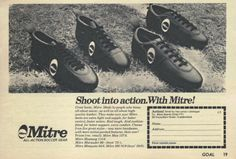 Soccer Boots, Advertising, Ads, Vintage Football, Hiking Boots, Trainers, Footwear, Retro, Classic