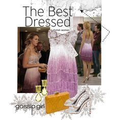 my all time favorite look of Serena's from Gossip Girl