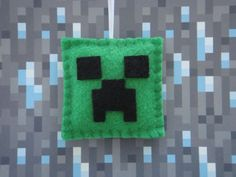Handmade Minecraft Creeper Felt Ornament Magnet Decoration Birthday Party Favor | eBay