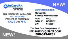 incaredrugcard.com Save money on all your prescriptions. 100% free.