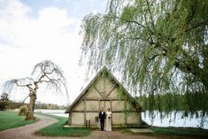 Castle Leslie Wedding , the boat house - Nichola & Ryan
