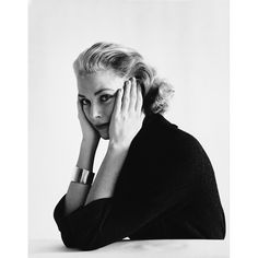 Mark Shaw-Portrait of Grace Kelly #2-1954 | From a unique collection of antique and modern photography at http://www.1stdibs.com/furniture/wall-decorations/photography/