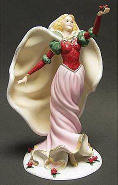 Princess Figurines | LENOX Christmas Princess-Figurine at Replacements, Ltd