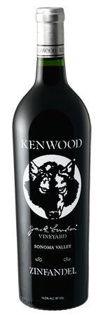 Kenwood Jack London Vineyard Zinfandel 2010 -- love a good red zin!