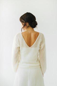 Knit Fashion, Girl Fashion, Bridal Fashion, Girls Sweaters, White Sweaters, Bridal Bolero, Bridal Shrugs, Wedding Sweater, Wedding Shawl