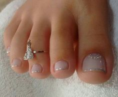 Looking for easy nail art ideas for short nails? Look no further here are are quick and easy nail art ideas for short nails. nails near me salon nails nails salon nails Continue Reading → Cute Toe Nails, Toe Nail Art, Gel Toe Nails, Glitter Toe Nails, Nails With Glitter Tips, Toe Nail Polish, Acrylic Nails, Simple Toe Nails, Gel Toes