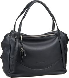 34160c7cb7e48 Liebeskind Berlin Shopper Burnie Black  damentasche  bags  shopper