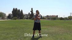 Intramural Officiating - Flag Football Signals & Mechanics Flag Football, Football And Basketball, Football Officials