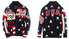 Ralph Lauren strickt USA-Olympia-Dress  ➨ www.markenfaktor.de/?p=3495 #Olympia #Wintergames #Sotschi #Sochi #USA #RalphLauren