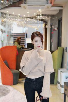 my wooly world — korean-dreams-girls:   Ji Na - December 30, 2015...