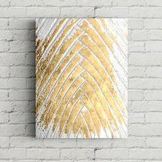 Peinture abstraite de feuille dor | Etsy Purple Painting, Sun Painting, Oil Painting Abstract, Large Painting, Art Feuille D'or, Liquid Gold Leaf, Gold Leaf Art, Painted Leaves, Painted Wood
