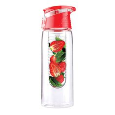 Fruit infused water bottle .. I need this!