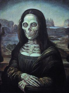 Mona Zombie by William Stout