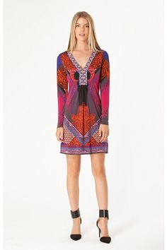 Hale Bob Shanti Jersey Dress