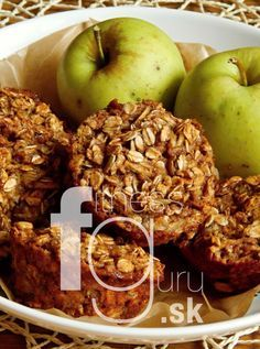 Ovsené cuketovo-jablkové muffiny