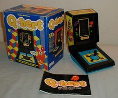 Hand-Held Video Games of the 70's and 80's