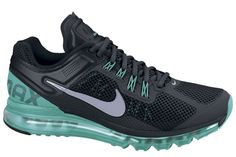 Nike Air Max+ 2013, Black/Turquoise
