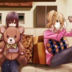 yuzu x mei / citrus Manga Yuri, Yuri Anime, Manga Anime, Citrus Anime, Lgbt, Gay Art, Jojo's Bizarre Adventure, Shoujo, Anime Love