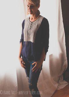 stitch fix - Collective Concepts 'kaplan' boho blouse