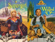 Supergirl 40 Voltar para DC Comics faz mês de homenagem a cartazes de filmes - veja as capas das HQs