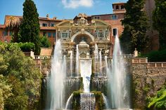 Villa d'Este, Tivoli, Italy : The Most Beautiful Historic Gardens To Visit Around the World
