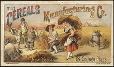The Cereals Manufacturing Co. New York. 18 College Place. [front] | Flickr - Photo Sharing!
