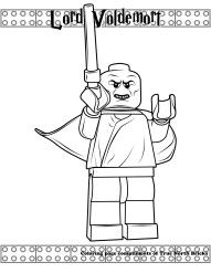 lego coloring pages lego harry potter coloring page